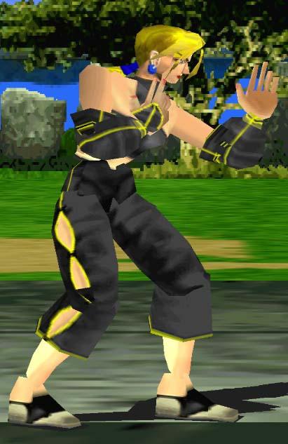 The Tekken 1 Tribute Project Character Screenshots