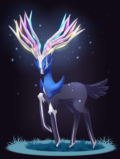 Xerneas the new legendary for Pokemon X and Y