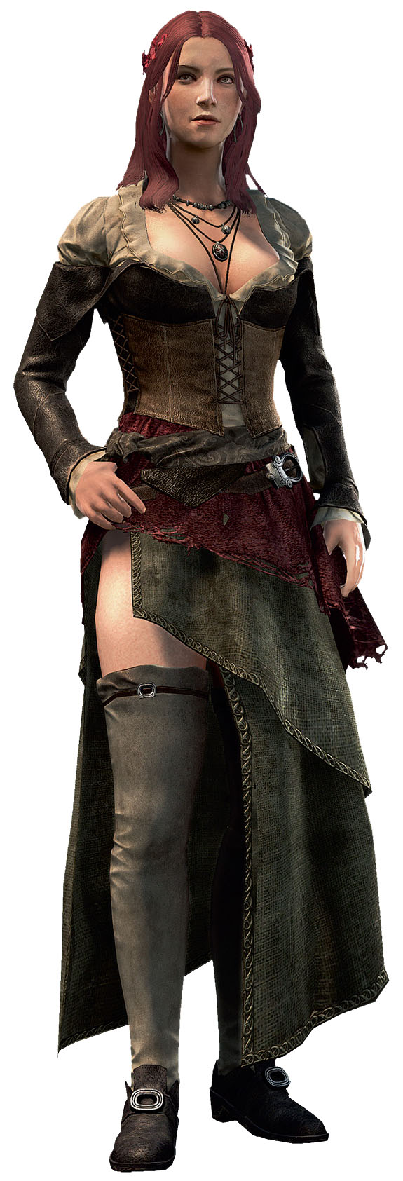Anne Bonny from the Assassin's Creed Series