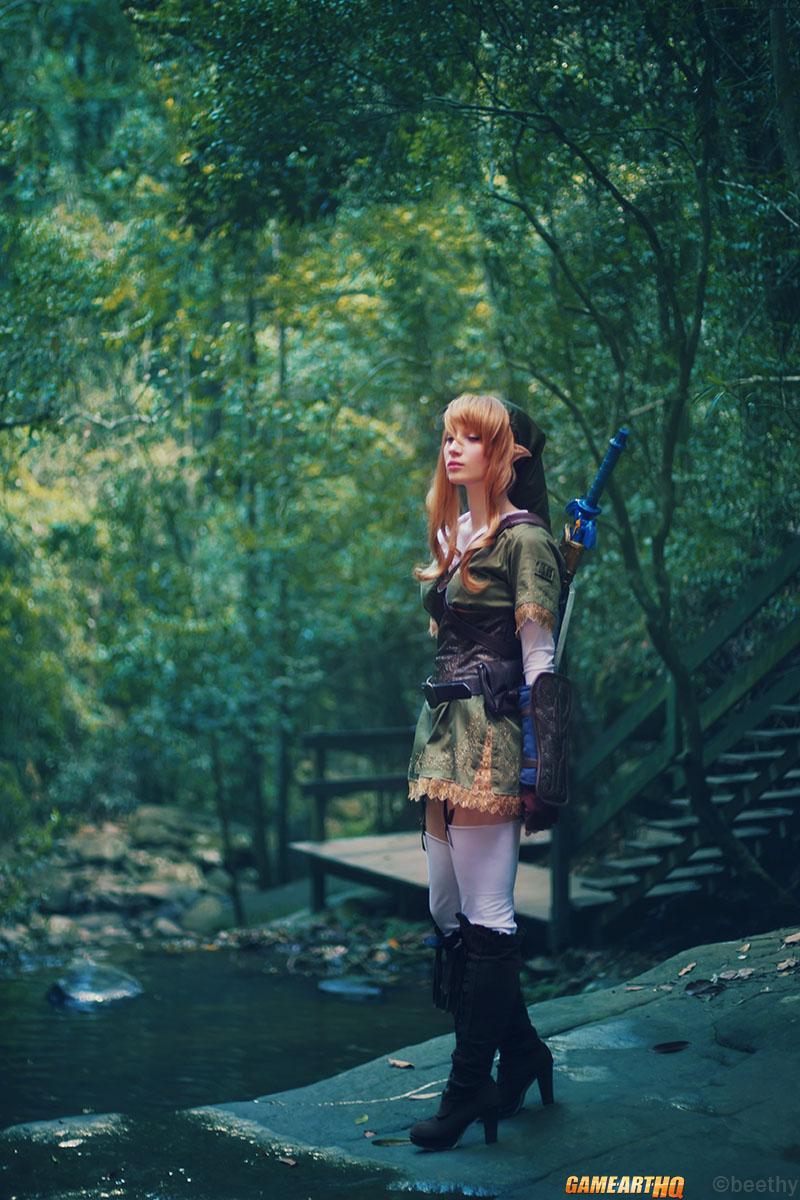Lost Girl Wallpaper Hd Female Link Cosplay The Legend Of Zelda Reborn P