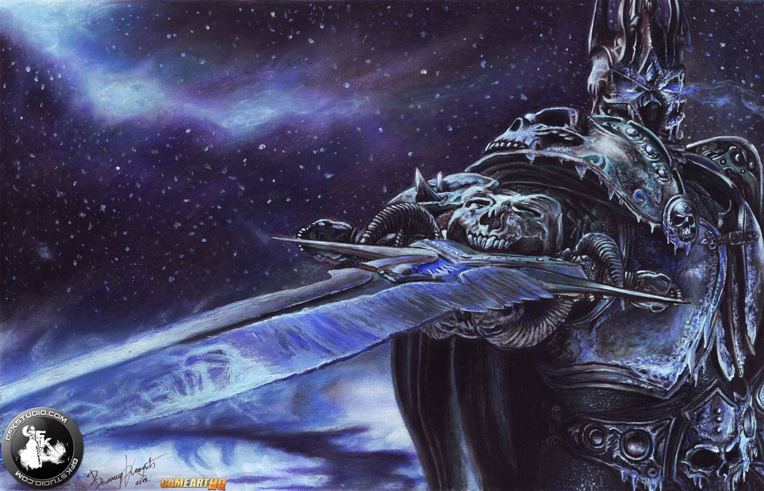 Arthas Menethil The Lich King From World Of Warcraft