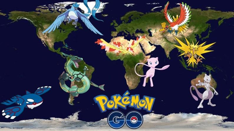pokemongo regions