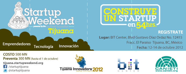 Startup Weekend Tijuana 2