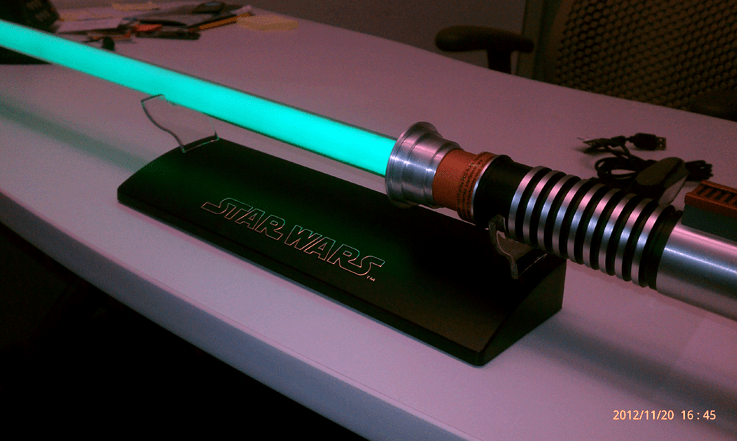 my lightsaber