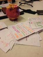 ideas from innovation workshop