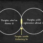 People worth listening to