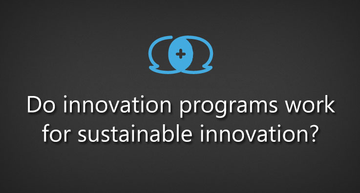 Do innovation programs work for sustainable innovation?