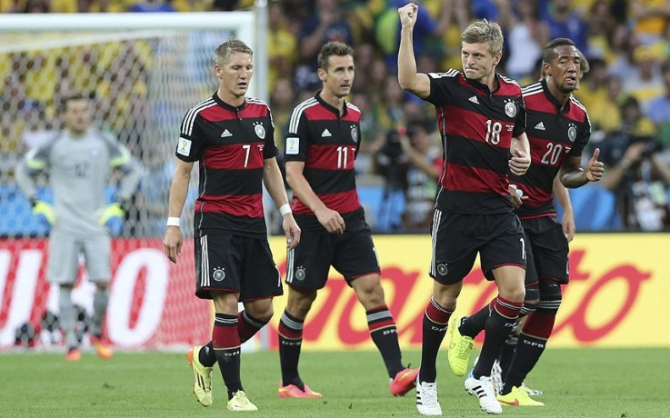 brazil vs germany world cup 2014