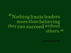 the number one limiting belief of leaders