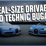 Build For Real: LEGO Has Topped Itself With A Real-Size Driveable Bugatti Chiron