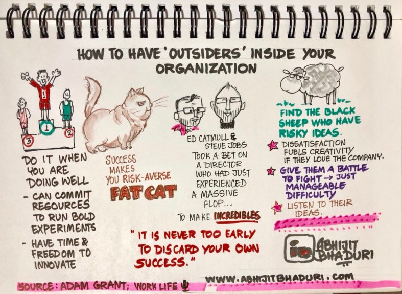 how to use outsiders inside your organization