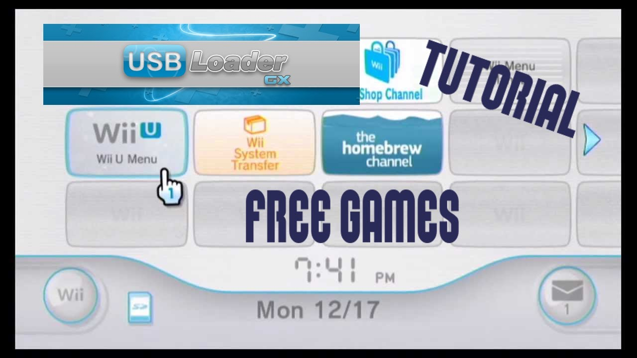 How to get FREE Wii Games with USB Loader GX! - 2020 Tutorial - bd3r4 - Game Designers Hub
