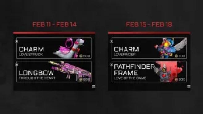 Apex Legend's Valentine's Day