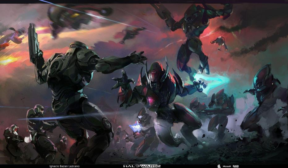 HALO's concept art is very strong