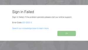 Fortnite Error Code ES-OSS-3 FIXED