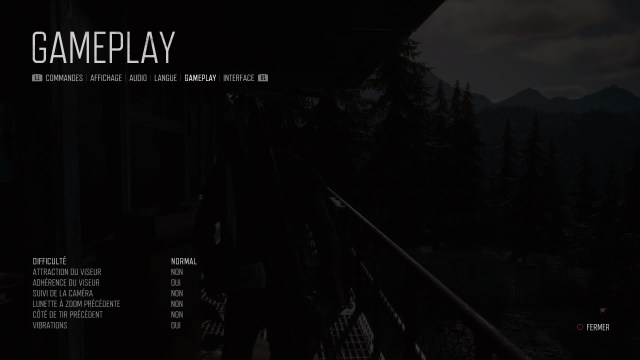 DAYS GONE menu Gameplay