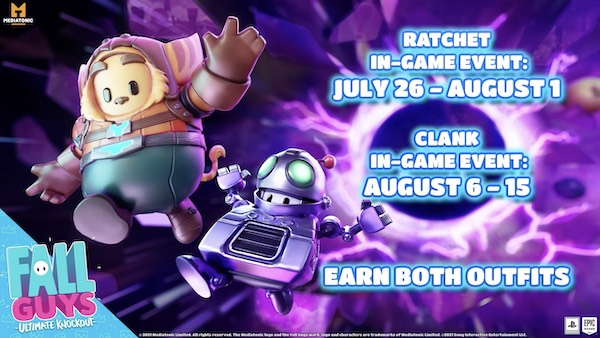 fall-guys-ratchet-and-clank-eventos-playstation-ps4