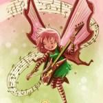 """""""Goblins Drool, Fairies Rule!"""" fairy - Candy Rock"""