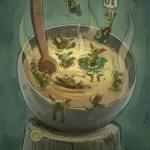 """Goblins Drool, Fairies Rule!"" goblin - Goblins Soup"