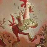 """Goblins Drool, Fairies Rule!"" goblin - Chicken Pock"