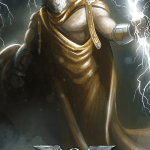 Immortal - game of mythic strategy - Zeus card illustration
