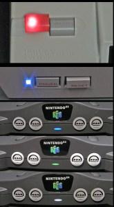 Console LEDs