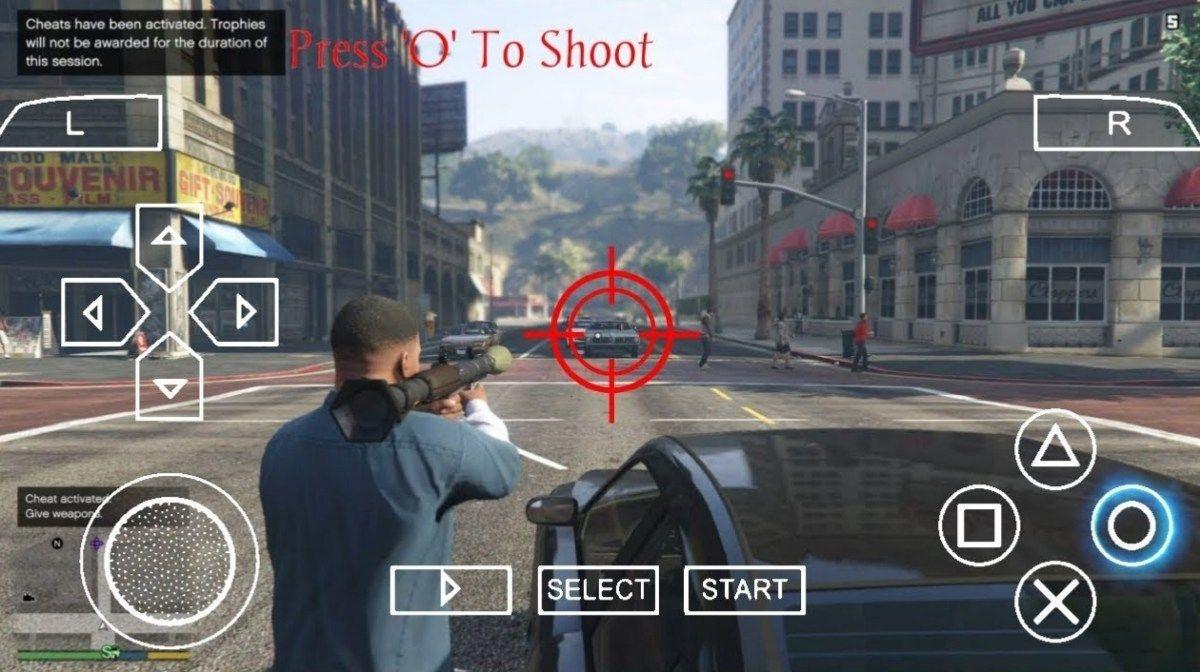 Télécharger GTA 5 PPSSPP ISO hautement compressé   Game243