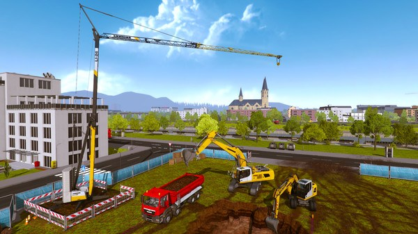 Download Construction Simulator Gold Edition LIEBHERR A 918