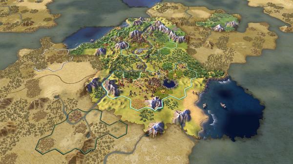 Download Sid Meiers Civilization VI Gathering Storm-CODEX + OnLine