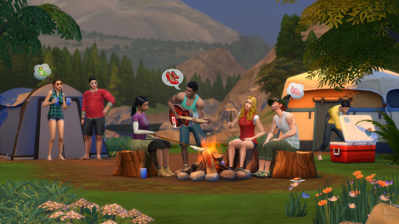 Download The Sims 4: Deluxe Edition v1 52 100 1020 + All