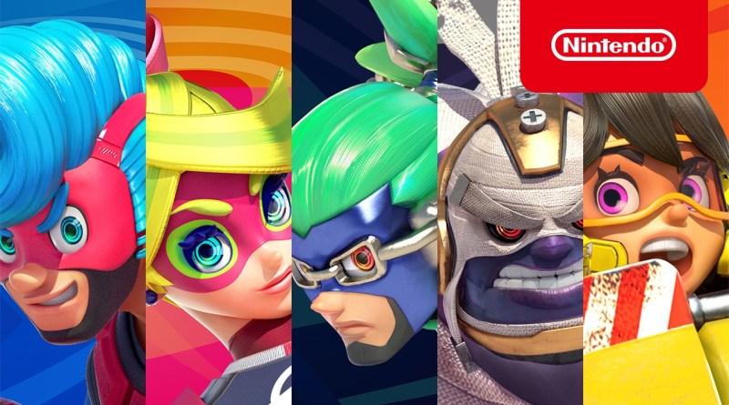 Arms | Dévoile 5 personnages | Nintendo Switch