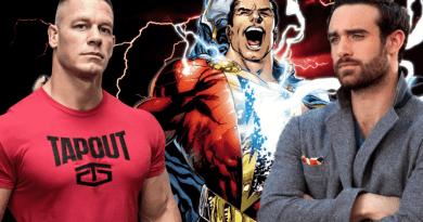 Shazam,John Cena, The Rock, Joshua Sasse, DCEU