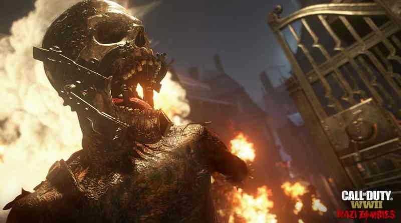 Call Of Duty WWII   Le mode zombie promet d'être terrifiant
