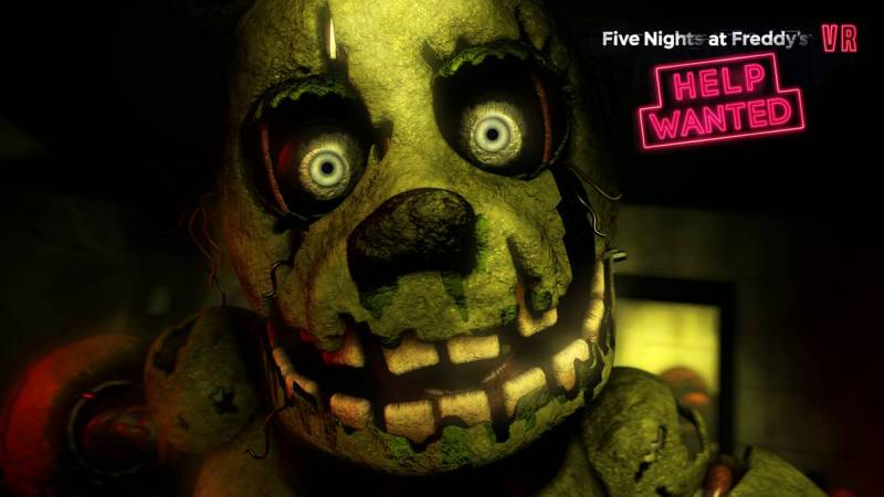 five nights at freddy 3 fnaf 3 psvr htv occulus ps4 soluce vr