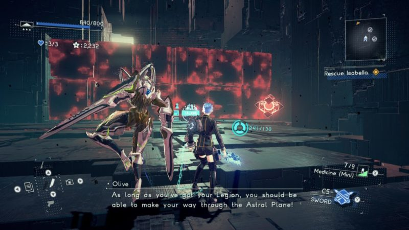 Astral chain Armure de la police Astral (Astral police armor), soluce costume astuce