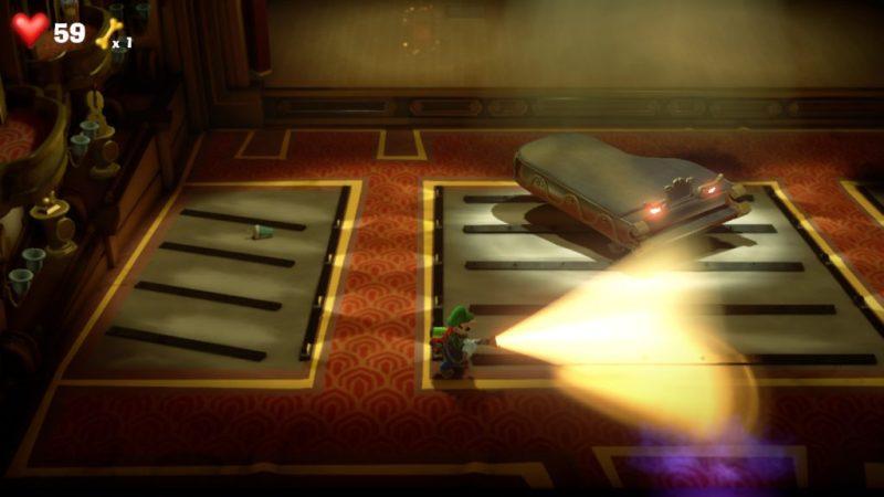 Luigi's Mansion 3 soluce solution fr guide etage 4 salle concert switch
