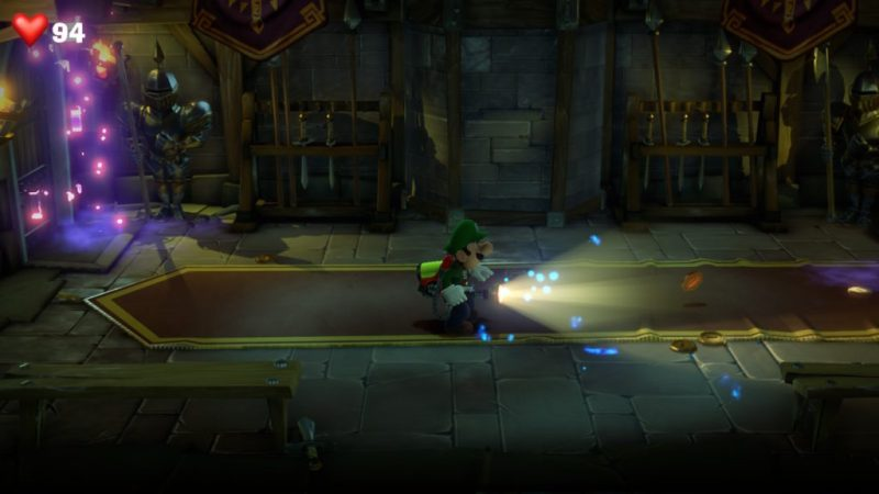 Luigi's mansion suite medieval 6 etage fr soluce solution guide