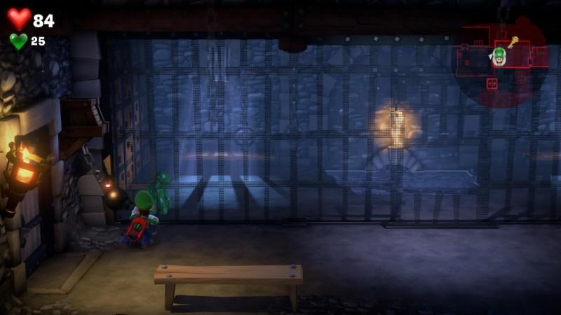 Luigi's mansion suite medieval 6 etage fr soluce solution guide