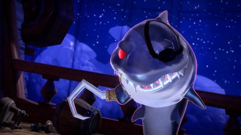 prise spectrale luigi mansion 3 soluce solution capitaine boss dents requin