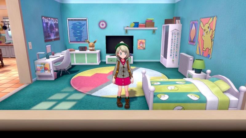 Soluce Pokemon Épée Bouclier ville de Paddoxton chambre