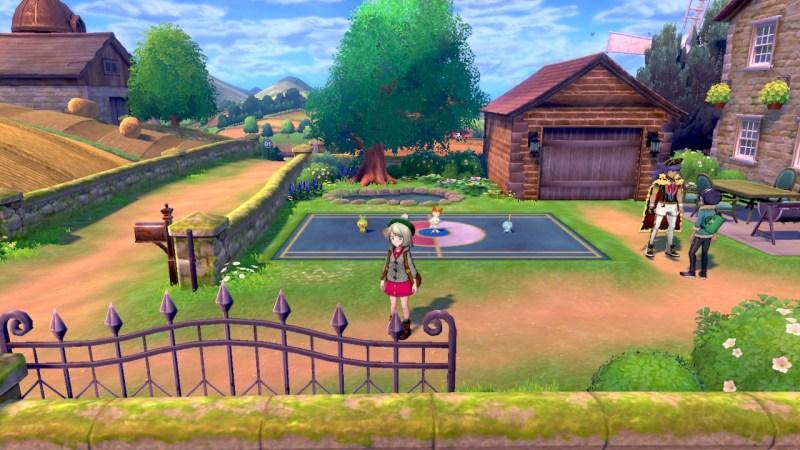 Soluce Pokemon Épée Bouclier ville de Paddoxton, Tarak et Nabil