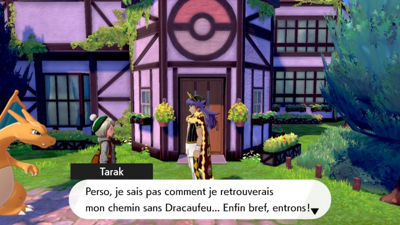 solution cheminement route 1 pokemon epee bouclier, laboratoire pokemon