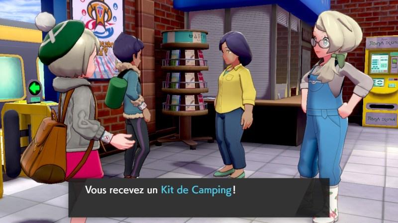 solution cheminement la gare de brasswick kit de camping pokemon épée bouclier