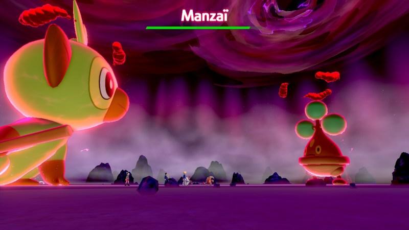 solution pokemon épée et bouclier terres sauvages liste des pokemon dynamax manzaï