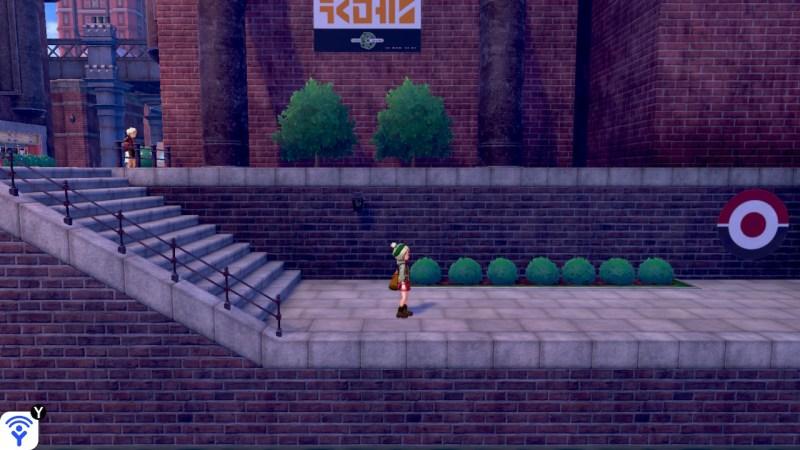 Solution pokemon épée et bouclier ville de motorby emplacement poke ball potion