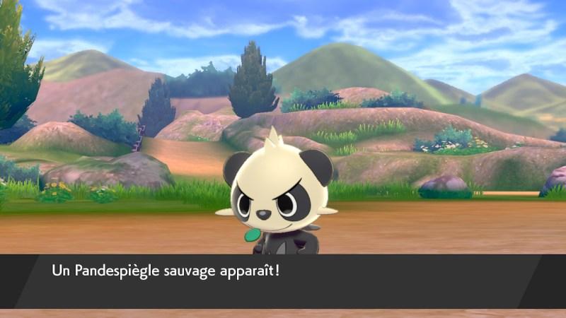 Solution pokémon épée et bouclier route 3 emplacement pokemon pandespiegle