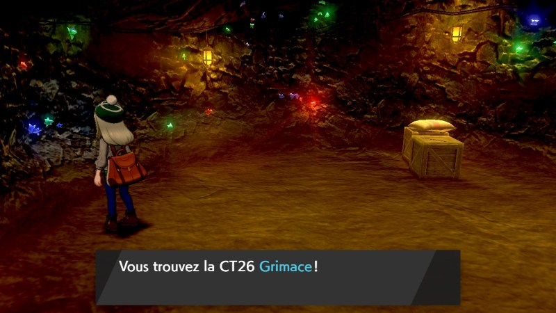 Solution pokemon épée et bouclier, mine de galar emplacement objet CT26 Grimace