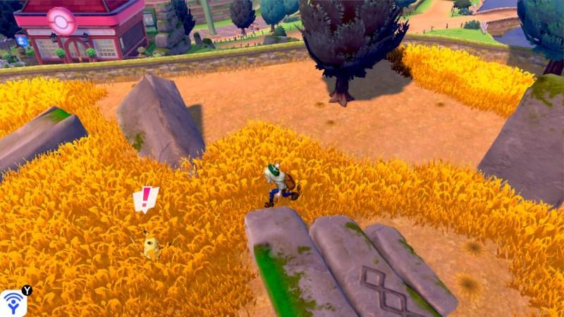 soluce, route 4 pokemon épée et bouclier, solution emplacement pokemon et liste objets pikachu