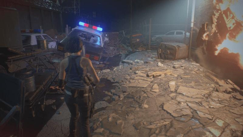 resident evil 3 remake soluce guide ville raccoon city sous station central disjoncteur