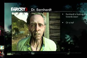 Full Performance Capture on Far Cry 3